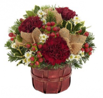 Christmas Country Celebration Arrangement