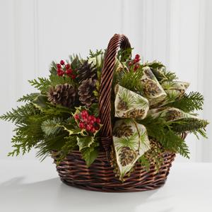 Christmas Coziness  B13-4428 Christmas Basket