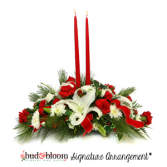 Christmas Elegance Bud & Bloom Signature Arrangement