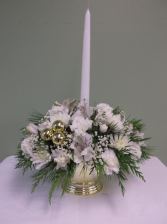 CHRISTMAS ELEGANCE CENTERPIECE