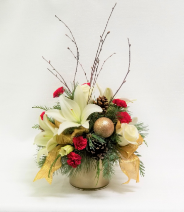 Christmas Elegence Holiday Bouquet