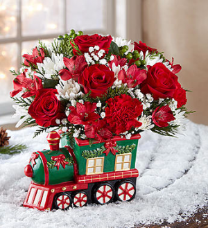 Christmas Express Train™  in Edgewood, MD | ALWAYS GOLDIE'S FLORIST