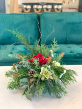 Christmas Fresh Flower Special Centerpiece
