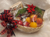 Christmas Fruit Basket Gourmet Basket