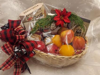 Christmas Fruit Basket Gourmet Basket