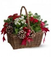 Christmas Garden Basket HFWEB278