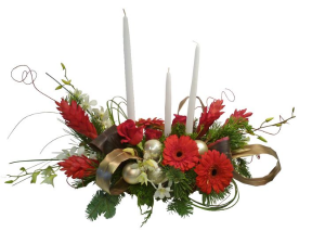 Christmas Glam Custom Glam Design in Colorado Springs, CO | ENCHANTED FLORIST II