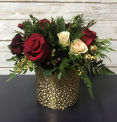 Christmas Gold Arrangement