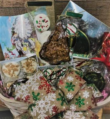 Christmas Goody Basket Gift Basket