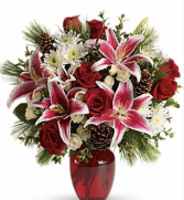Christmas grand vase arrangement  Christmas