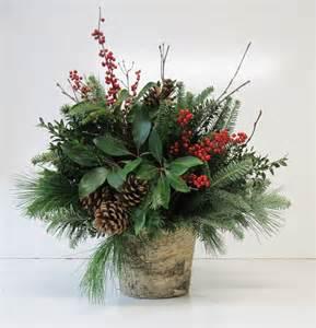 christmas greens floral arrangemnet - Christmas Greens