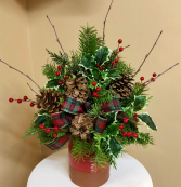 Christmas Heirloom Crock 2 Gifts in One!!! Plus that wonderful pine scent!
