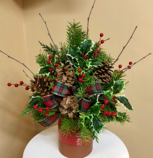 Christmas Heirloom Crock 2 Gifts in One!!! Plus that wonderful pine scent! in Springfield, IL | FLOWERS BY MARY LOU
