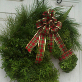 Christmas Horse Wreath Door Hanger