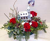 Christmas Church Centerpiece