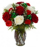 Christmas Hug Vase Arrangement