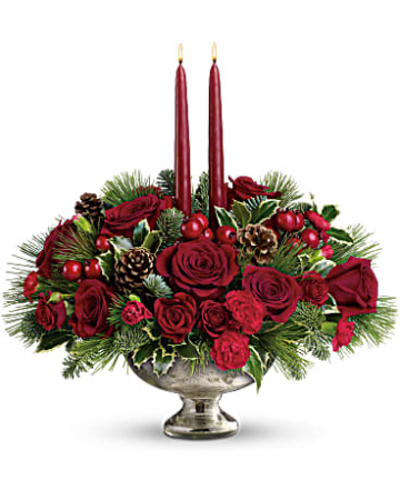 Christmas Joy Flower Arrangement