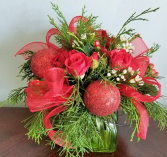 Christmas Joy Vase Design