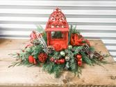 Christmas Lantern Arrangement