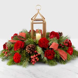 Christmas Lantern Centerpiece Centerpiece