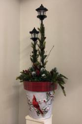 Christmas Lantern Silk