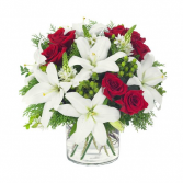 Christmas Lilies Christmas Arrangement