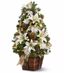 Christmas Lily Tree