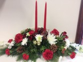 Christmas Long & Low Centerpiece Centerpiece