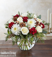 Christmas Love Flowers  Holiday Bouquet