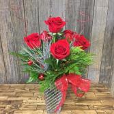 Christmas Love Vase