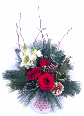 Christmas Luster Christmas Arrangement