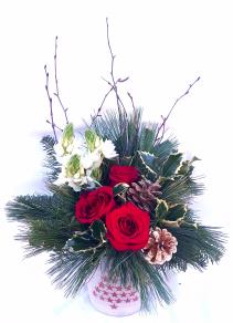 Christmas Luster Christmas Arrangement