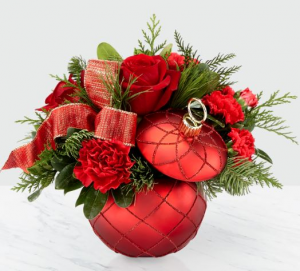 Christmas Magic Vase in Bryan, OH | Farrell's Lawn & Garden and Flowers