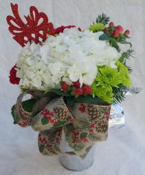 Christmas Memories-Tall Christmas Arrangement