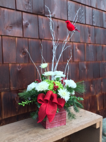 Christmas Message Holiday Arrangement