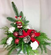 Christmas Mouse  Jingle Bells Basket