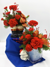 Christmas Novelty Special  Floral Arrangement