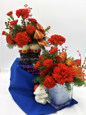 Christmas Novelty Special  Floral Arrangement in Presque Isle, ME | COOK FLORIST, INC.