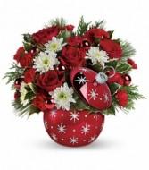 Christmas ornament arrangement Christmas