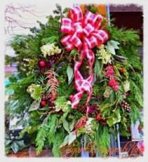 CHRISTMAS OUR HANDMADE CUSTOM WREATHS & HOLIDAY ARRANGEMENTS