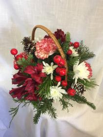 Christmas Pick-Me-Up Basket