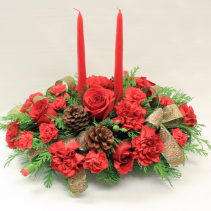 Christmas Pines Holiday Centerpiece