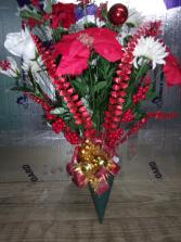 Christmas Poinsettia, Balls etc.  $39.99