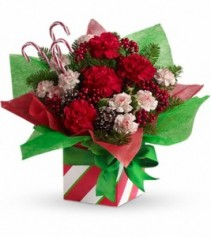 Exclusively at Flowers Today Florist Christmas Present Perfect