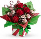 Christmas Present Present Perfect Bouquet