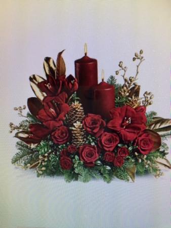 Christmas Rich Glow Centerpiece