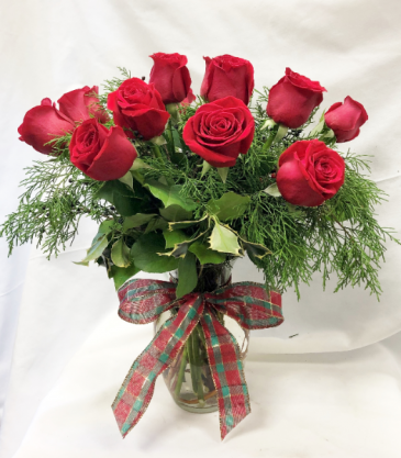 Christmas Roses Fresh Floral Design