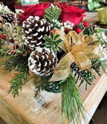 Christmas Sentiment Basket