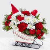 Christmas Sleigh Christmas Arrangement