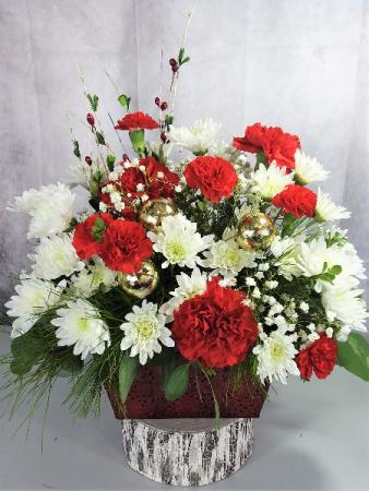 Christmas Song fresh flowers
